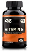 Витамин Е Optimum Nutrition Vitamine E  (200 капс)