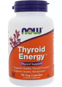 Препараты для щитовидной железы NOW Thyroid Energy  (90 vcaps)